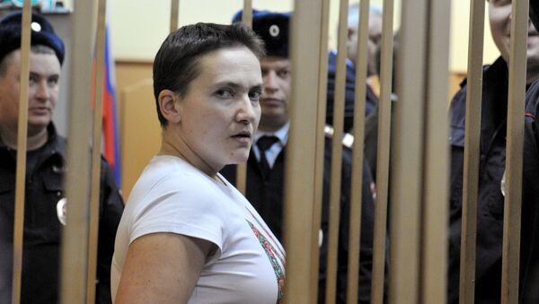 Court hears UKrainian pilot Nadezhda Savchenko's appeal - Sputnik International