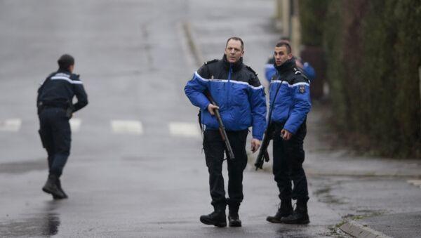 French police and gendarmes patrol in Dammartin-en-Goele - Sputnik International