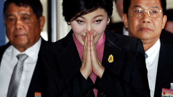 Ousted former Prime Minister Yingluck Shinawatra - Sputnik International