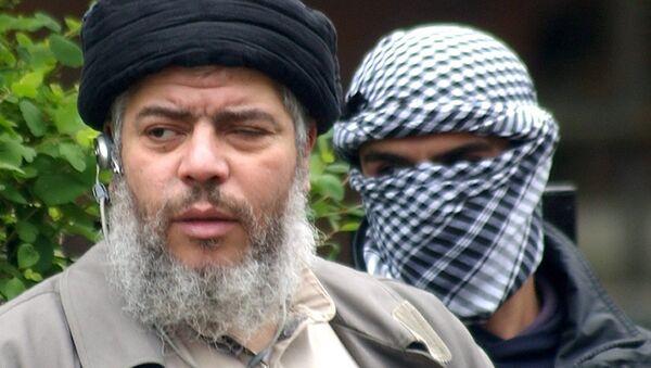 Muslim cleric Abu Hamza al-Masri - Sputnik International