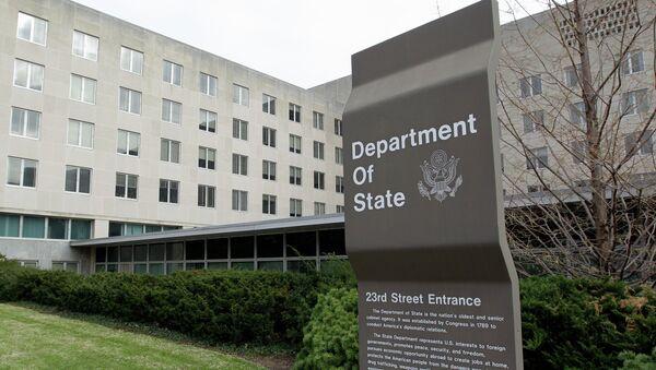The State Department in Washington, Monday, Dec. 15, 2014 - Sputnik International