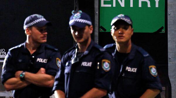 Police officers, Sydney - Sputnik International