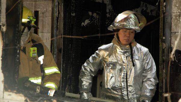 Seoul firefighters - Sputnik International
