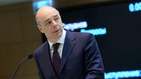 Finance Minister Anton Siluanov - Sputnik International