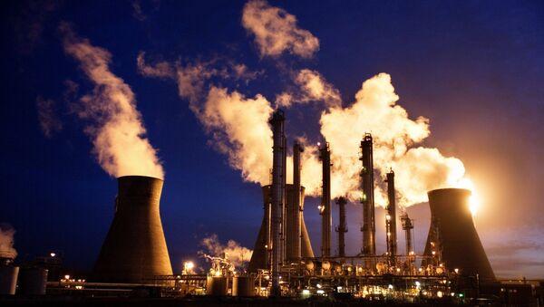 BP's Grangemouth oil refinery - Sputnik International