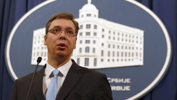 Aleksandar Vucic - Sputnik International