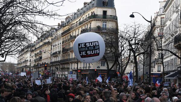 Unity March in Paris - Sputnik International