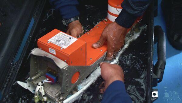 The FDR (Flight Data Recorder) of the AirAsia flight QZ8501 - Sputnik International
