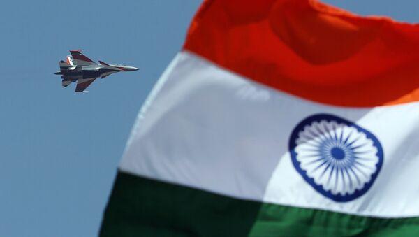 An Indian Air Force Sukhoi Su-30 - Sputnik International