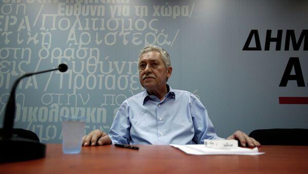 Fotis Kouvelis - Sputnik International