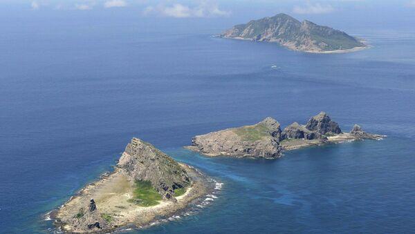 Minamikojima, Kitakojima and Uotsuri islands of the Senkaku Islands in the East China Sea - Sputnik International