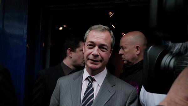 Nigel Farage - Sputnik International
