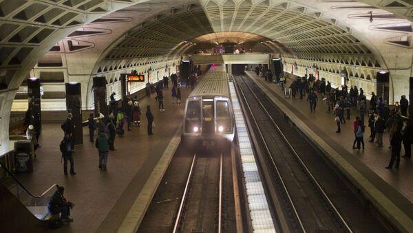 L'Enfant Metro Station in Washington - Sputnik International