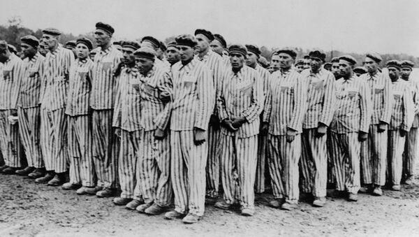 Roll call at Buchenwald concentration camp - Sputnik International