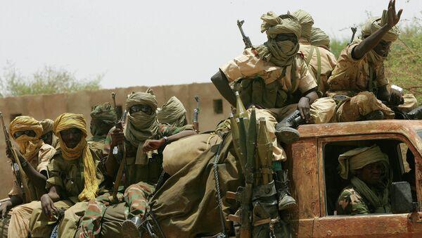 Chadian army soldiers - Sputnik International