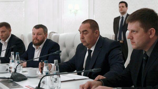 New round of talks in Minsk - Sputnik International