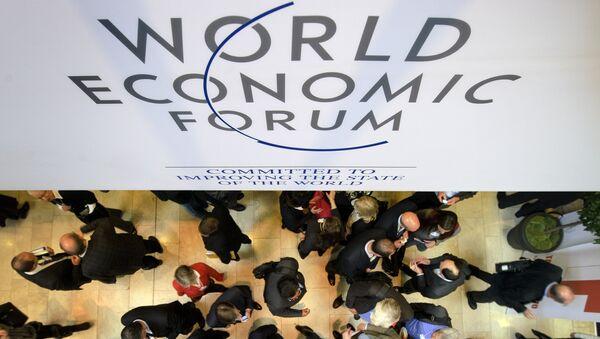 World Economic Forum (WEF) annual meeting - Sputnik International