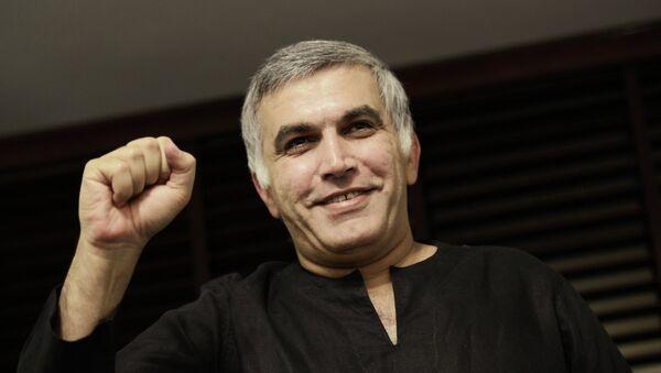 Bahraini human rights activist Nabeel Rajab - Sputnik International