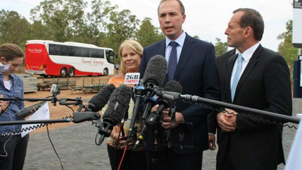Australia's immigration minister Peter Dutton - Sputnik International