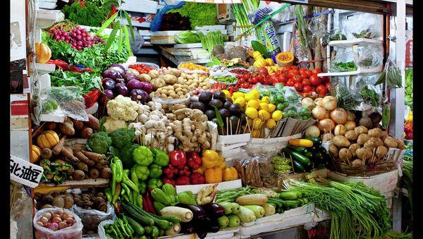 Vegetable stall in a Market - Sputnik International