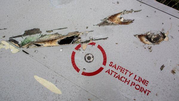 Debris of Boeing 777 - Sputnik International