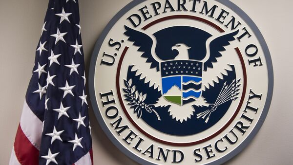 The logo of the US Department of Homeland Security - Sputnik International