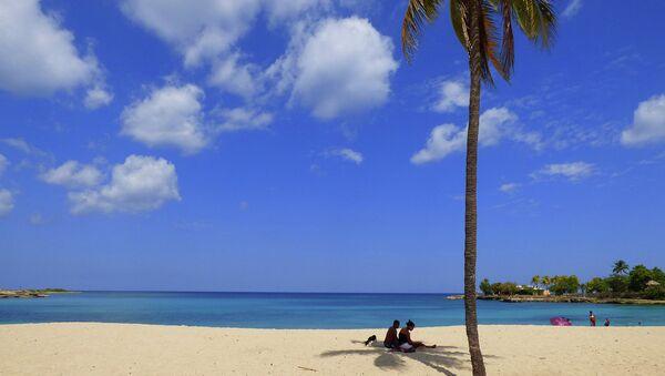 Caribbean beach series .. Cuba - Sputnik International