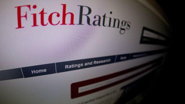 Ratings agency Fitch website - Sputnik International