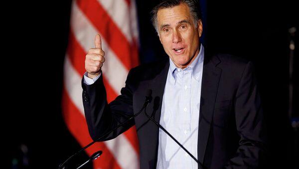 Former presidential candidate Mitt Romney - Sputnik International