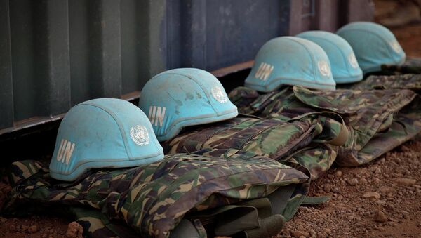 Daily life at the under construction camp of the UN Peacekeepers in Gao, Mali - Sputnik International