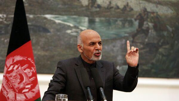 Afghan President Ashraf Ghani - Sputnik International