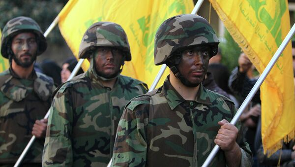 Hezbollah fighters - Sputnik International