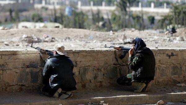 Houthi fighters - Sputnik International