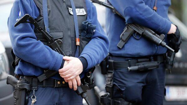 Armed Belgian police officers - Sputnik International