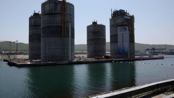 Construction of GBS for Berkut platform - Sputnik International