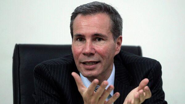 Former Argentine prosecutor Alberto Nisman - Sputnik International