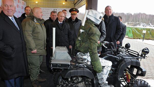 President Vladimir Putin visits research institute of precision mechanics and computer engineering - Sputnik International