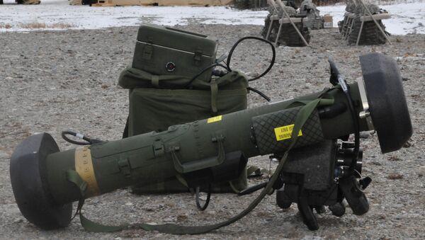 The FGM-148 Javelin Anti-tank Guided Missile - Sputnik International