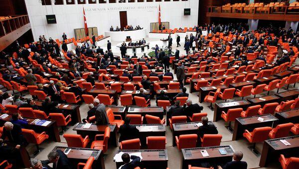 Turkish Parliament - Sputnik International