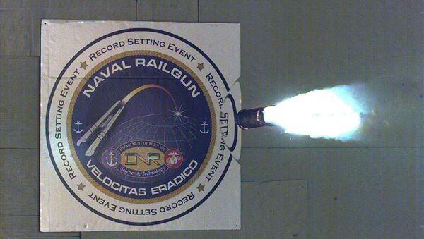 Electromagnetic railgun - Sputnik International