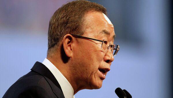 UN Secretary General Ban Ki-moon - Sputnik International