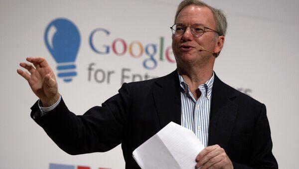 Google Executive Chairman Eric Schmidt - Sputnik International