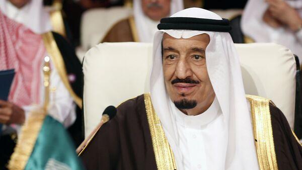 A file picture taken on March 26, 2013 shows Saudi Crown Prince Salman bin Abdul Aziz al-Saud attending the opening of the Arab League summit in the Qatari capital Doha - Sputnik International