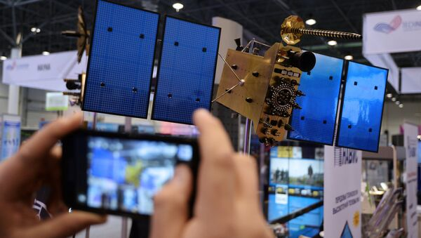A model of the GLONASS-K satellite - Sputnik International