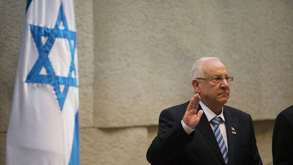 Incoming Israeli President Reuven Rivlin is sworn in during a ceremony at the Knesset, Israel's parliament, in Jerusalem - Sputnik International