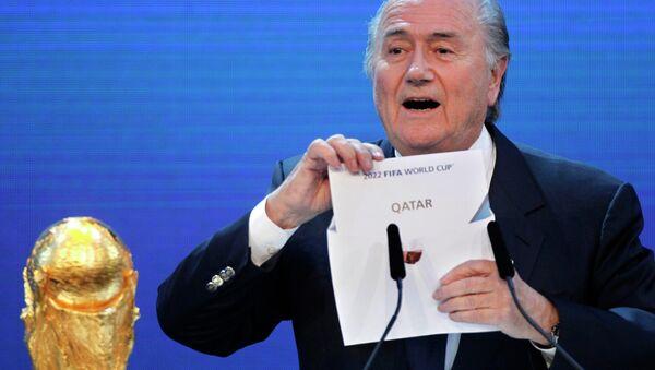 FIFA President Sepp Blatter - Sputnik International