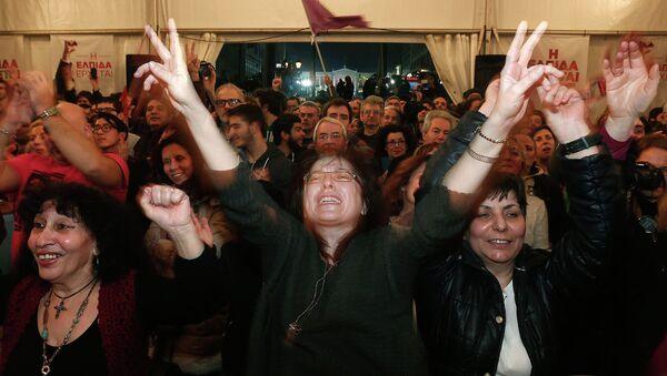 Syriza - Sputnik International