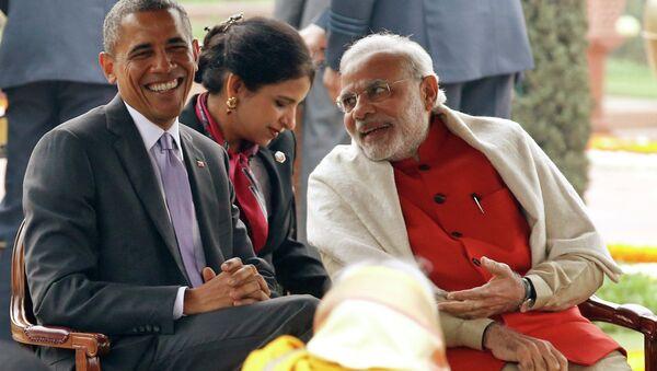 President Barack Obama and Narendra Modi - Sputnik International