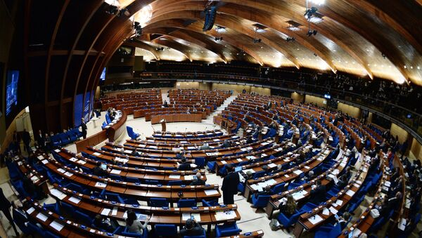 Plenary meeting of the winter session of the Parliamentary Assembly Council of Europe - Sputnik International