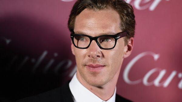 Actor Benedict Cumberbatch - Sputnik International